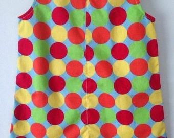 Rockabilly Spotty Dress Size 0
