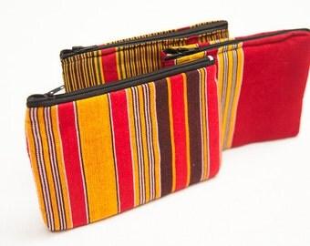 African Fabric Purse