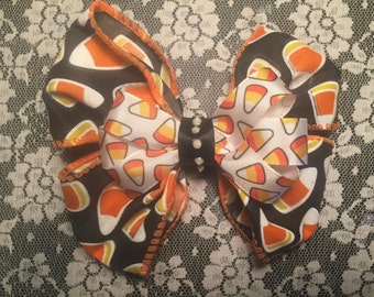 Candy corn - Hair Bow