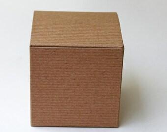 Pinstripe Kraft Boxes/Favor Boxes/Kraft Boxes/Baby Shower Favor Boxes/Party Boxes