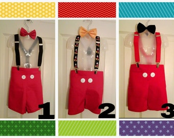 Mickey Mouse Short set 6 variations!