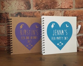 Personalised Hen Do Scrap Book/Journal to save all the memories
