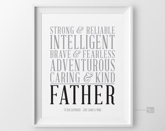 Fathers Day Gift for Dad Gift for Christmas Gift for Dad Personalized Gift for Dads Birthday Gift for Father from Kids for Father