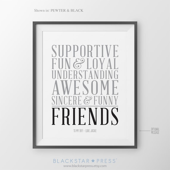 Best Friend Gift for Friend Long Distance BFF Birthday Gift for Friend ...