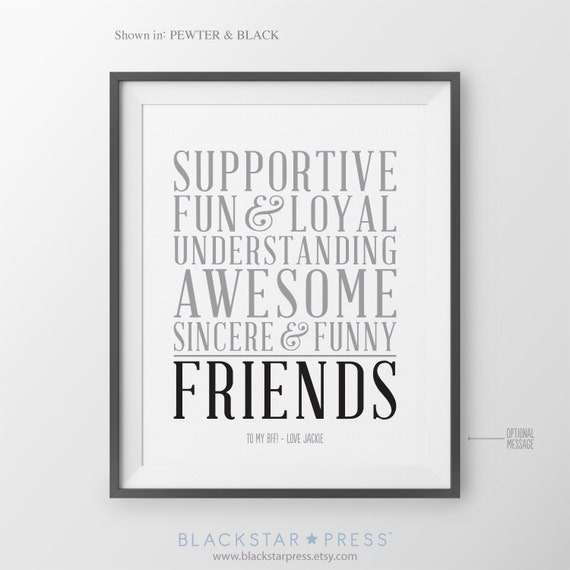 Wedding Gift For Distant Friend : Best Friend Gift for Friend Long Distance BFF Birthday Gift for Friend ...