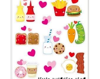F033- Foody Buddies Stickers