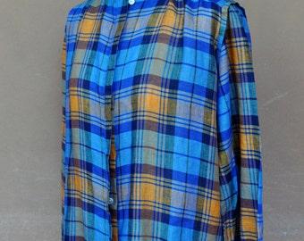 Vintage tartan shirt