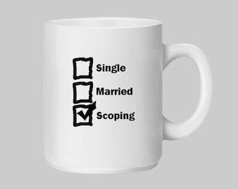 Scopist, Scoping, Scope, Court Reporter, Stenographer, Court Reporting, Proofreader, Proofreading, Court Transcript, Steno, Gift, Mug