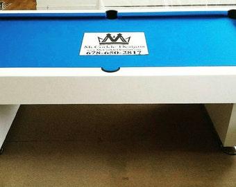 8ft Billiard Pool Table !