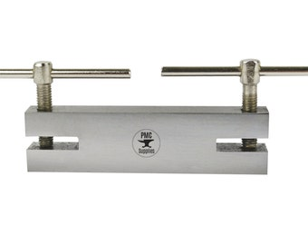 Two Hole Maker Jig 1.80 & 2.40 MM Metal Punch Jewelry Making Drill for Stamping - DRIL-0007
