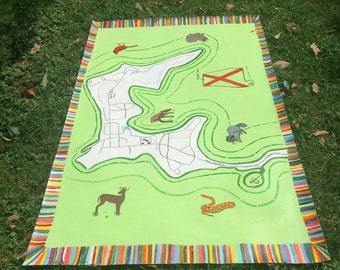 Handpainted Floorcloths
