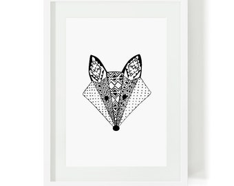 Limited Edition A4 Art Print - Vixen