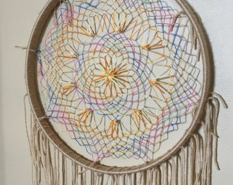 Colorful Jeweled Dream Catcher