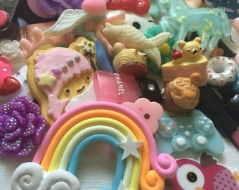 Cabochon grab bag! Cute and kawaii! Random mix!