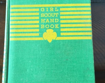 1944 Girl Scout Handbook