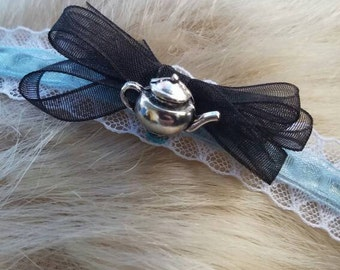 Alice in Wonderland inspired head band.