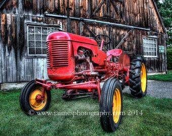 HDR Photography - Massey Harris Pony Tractor