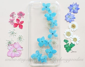 iPhone 7 Case, iPhone 7 Plus Case, iPhone 6s Case, iPhone 6 Plus Cover, Samsung Galaxy S5 Phone Case, Clear iPhone Case Flower