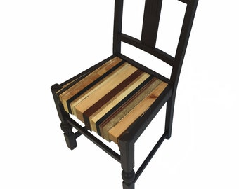 Dining Chair from recycled wood