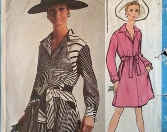 Vogue Americana Dress Pattern 1946 by James Galanos