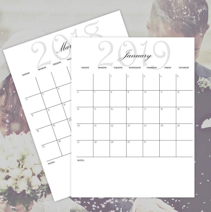 Calendar 2019 Microsoft