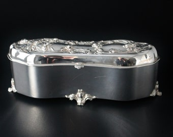 Items Similar To Antique Victor Silver Co Quadruple Plate