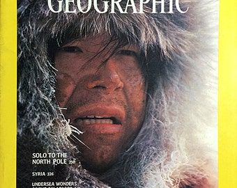 National Geographic magazines 1970s