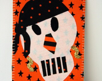 Pirate Skelly Postcard