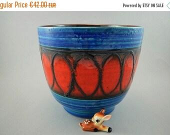 ON SALE Vintage pottery planter / Bay / decor Mekka   West German Pottery   70s
