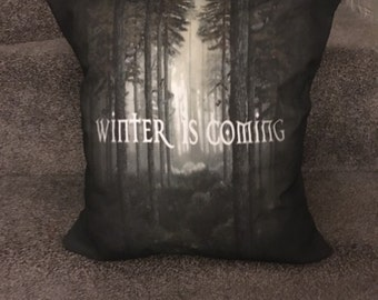 Winter is coming game of thrones cushion/ game of thrones home decor