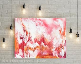 Lava, Original painting, Abstract Art