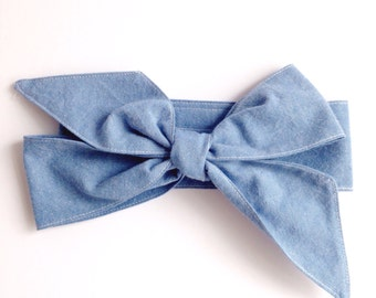 Headwrap - Chambray