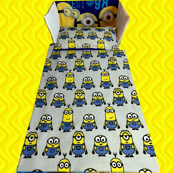 despicable me 2 minion minions movie cot crib bedding set