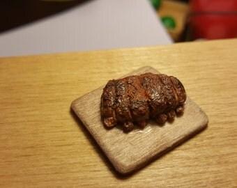 Miniature Rack of ribs dollhouse miniatures