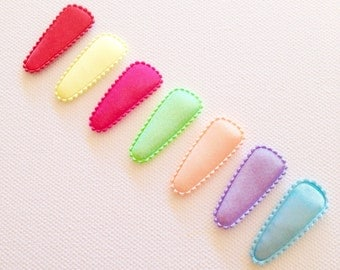 Baby/Toddler snap clips - rainbow