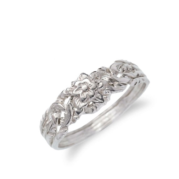 925k silver 4 band puzzle ring