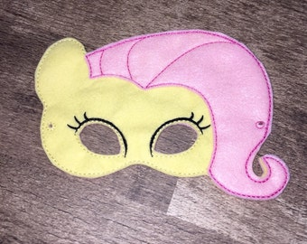 Fluttershy Pony Mask (Dress Up, Costume, Cosplay, Imaginative Play)