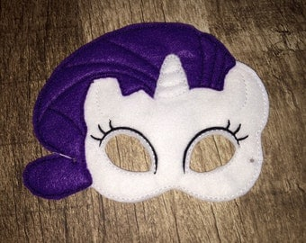 Rare Pony Mask (costume accessory)