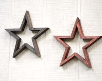 Wooden Star Wall Decor wooden star | etsy