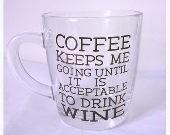 Coffee keeps me sane Mug