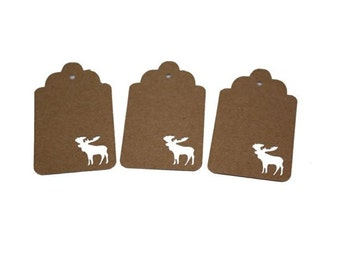 Moose Gift Tags