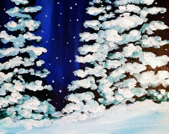 """16"""" x 20"""" Acrylic Painting on Canvas. Custom made to order in any size."""