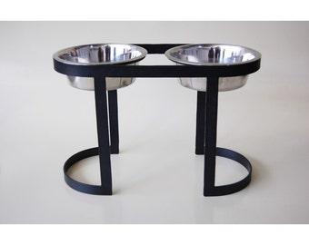 High dog bowl