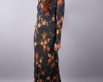 Long vintage dress Rosemarie