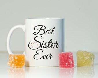 Sister mug, Gift for sister, Birthday for sister, Gift ideas for sister, Sister, Mug for sister, Sister gift, From brother to sister