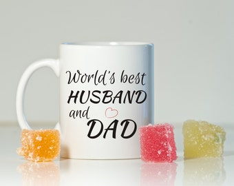 Gift for husband, Husband gift, Husband and dad gift, Husband mug, Dad gift, Father's Day gift, Husband birthday, Christmas husband gift
