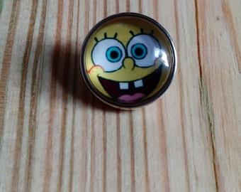 SpongeBoB Square Pants Snap Button