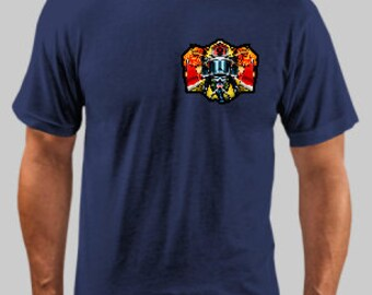 Fire Dept Truck #1 Shirt- Can Customize to Your Truck Number