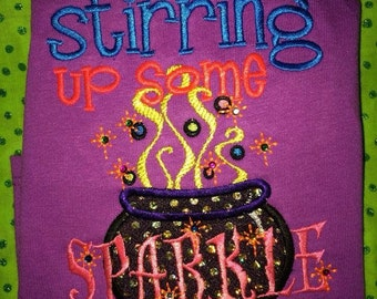 Stirring up some sparkle shirt