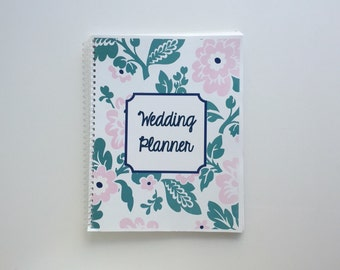 Wedding Planner & Organizer - Botanical Flowers in Assorted Colors